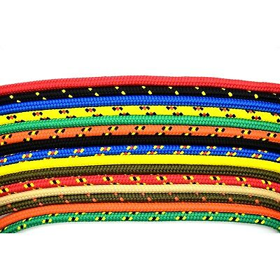 5mm Strong Braided Polypropylene Plaited Poly Rope Cord Boat CHOICE OF 14 COLORS