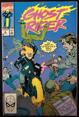 Ghost Rider #2, VF/NM, Danny Ketch, Blackout (Marvel, 1990)