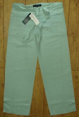 Bnwt Women/'s French Connection Trousers Belt RRP£65 New Grey Oatmeal