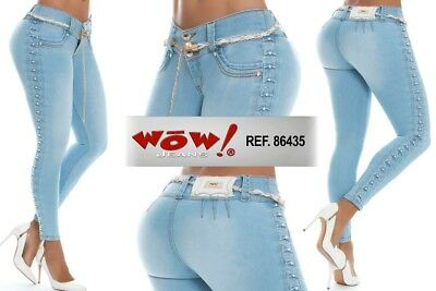WOW, Jeans Colombianos, Authentic Colombian Push Up Jeans, USA Size 3