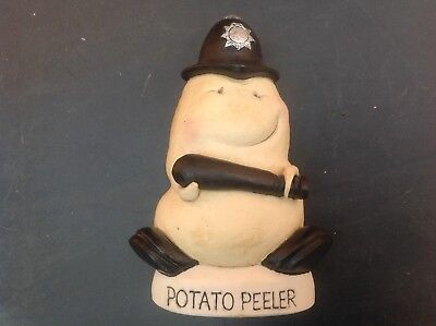 World of Groggs - Groggshop - Spud Buddies - Potato Peeler - Comic Policeman