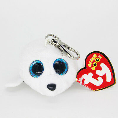 """3.2"""" Ty Beanie Boos White ICY Stuffed Plush Toys Child Gift Hot ONL"""