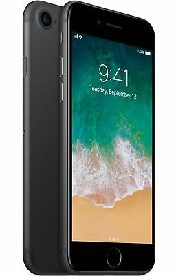 Apple iPhone 7 - 32GB Unlocked GSM (AT&T T-Mobile +More) 4G Smartphone - Black
