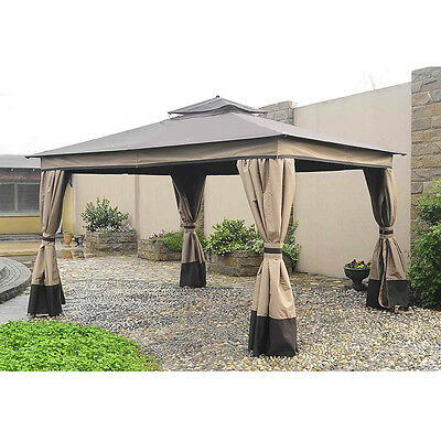 Sunjoy L-GZ472PST-I Gazebo Canopy Set Replacement for Lowes