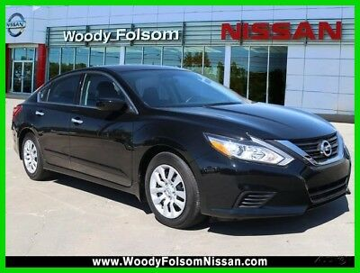 Nissan Altima 2.5 S 2017 2.5 S Used Certified 2.5L I4 16V Automatic FWD Sedan