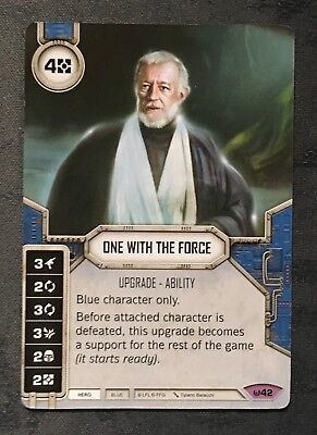 Star Wars Destiny - Awakenings - Legendary - One With The Force