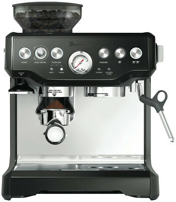NEW Breville BES870BKS The Barista Espresso Coffee Machine - Black Sesame