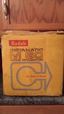 Instamatic M60 Super 8 - 8mm Movie Projector with Case