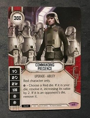 Star Wars Destiny - Awakenings - Legendary - Commanding Presence