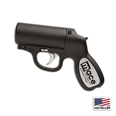 Mace Personal Self Defense Police Strength Pepper Spray Gun BLK Protect yourself