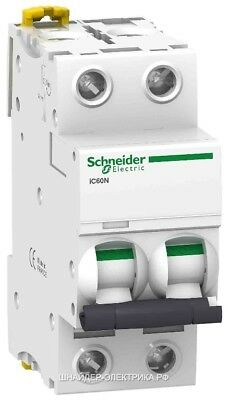 Schneider Electric Offer Acti 9 iC60N 2P 6KA C Curve Miniature Circuit breaker