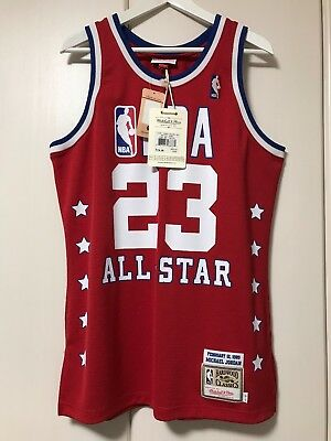 f18c9c7a98c5 100% Authentic Michael Jordan Mitchell Ness 89 All Star NBA Jersey Size 40 M