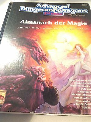 AD&D 2nd Edition Almanach der Magie
