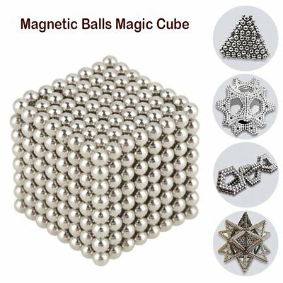 1000PCS 3mm 3D Puzzle Magic Magnet Magnetic DIY Balls Sphere Neodymium Cube Bead