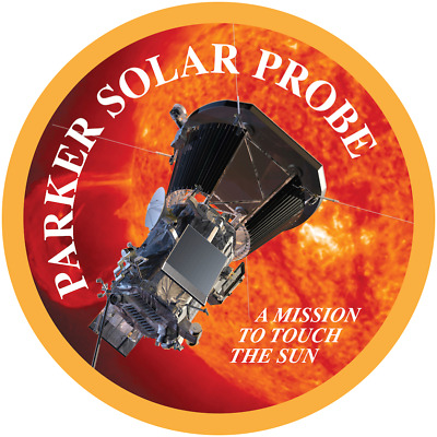 """Parker Solar Probe (Psp) Nasa """"touch The Sun"""" Mission Space Patch Free Shipping"""