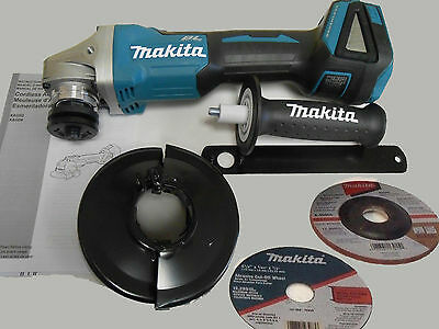 Makita XAG04Z Brushless 125mm Angle Grinder Cordless Cut-off Tool 18V DGA505Z