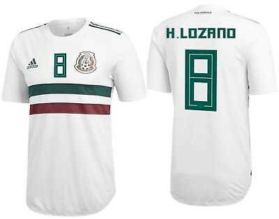 Adidas Hirving Lozano Mexico Authentic Match Away Player Jersey World Cup  2018 560f831e11587