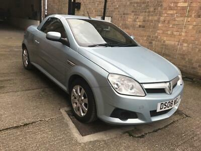 2008 08 Vauxhall Tigra 1.4 16V Twinport 2D 90 Bhp Extremely Low Mileage