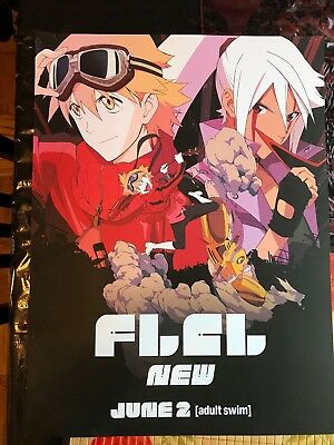 FLCL Poster Fooly Cooly C2E2 Season 2