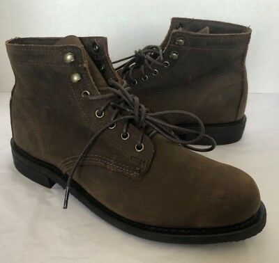 81fbd03b66e WOLVERINE LNIB 1883 Kilometer Boot Rubber Vibram Sole Shoes 8 NEW