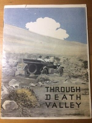 "Very rare booklet ""Through Death Valley in a Dodge Brothers Motor Car"" 1915"