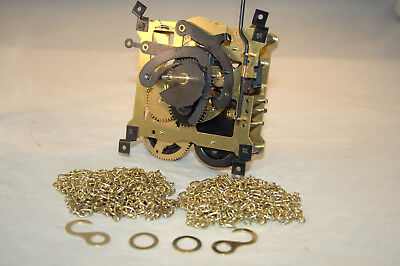 Rebuilt Regula 8 Day Cuckoo Movement plus New Chains & More, 34-S, Oiled/Tested
