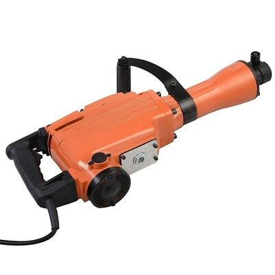 Heavy Duty Electric Demolition Jack Hammer Construction Concrete Breaker 2200W