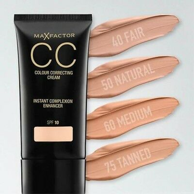 Max Factor CC Colour Correcting Cream Instant Complexion Enhancer SPF10 75Tanned
