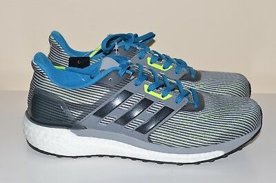 a853e66f11f7b NEW Adidas Energy Boost Supernova Grey Blue Men s 6.5 Running Shoes Sneakers