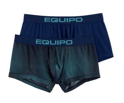 NEW Men's Equipo 2-Pack Microfiber Stretch Brazilian Trunks Size: S, M, L, XL