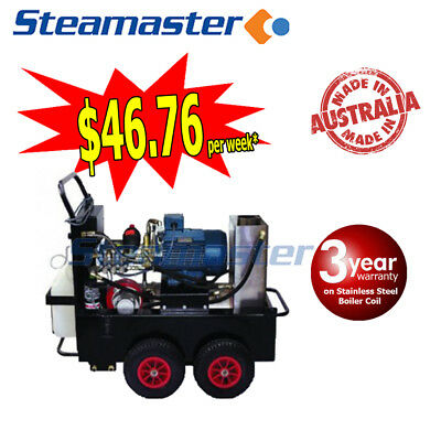 HIGH ELECTRIC HOT WATER CLEANER PRESSURE WASHER Buster 1521F 415v 15LPM 3000PSI