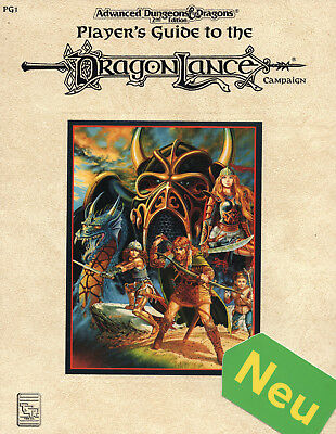 AD&D Players Guide t.t. DRAGONLANZE * wie NEU = TSR-Originalausgabe