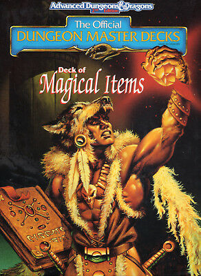 AD&D Deck of MAGICAL ITEMS - Original-Dungeon Master Deck & NEU !