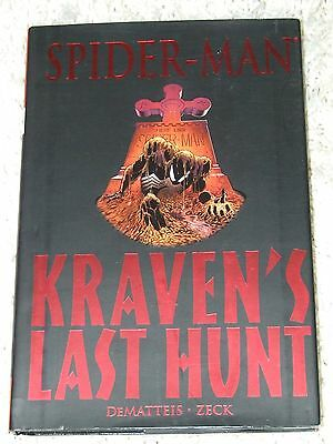 Spider-Man: Kraven's Last Hunt HC (2006 Marvel) Premiere Edition