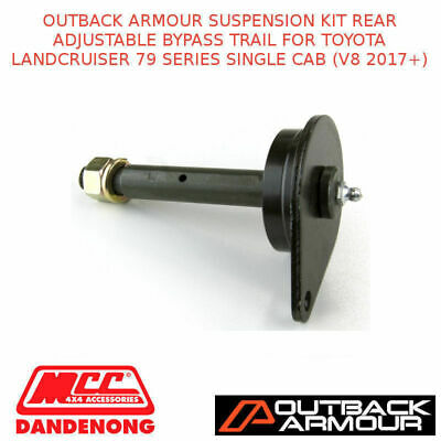 Outback Armour Susp Kit Rear Adj Bypass Trail Suit Toyota Lc 79S Sc V8 2017+