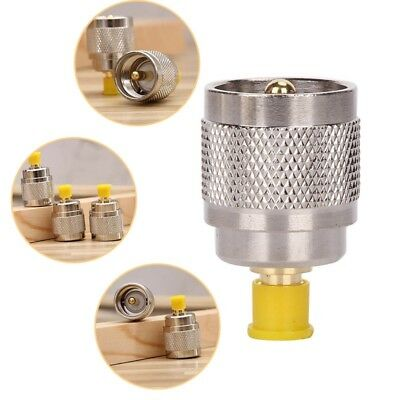 UHF Type Male PL259 Plug to SMA Female Jack Straight RF Coax Adapter Connector