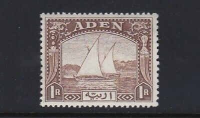 Aden SG9 1r brown - fresh lightly mounted mint £60