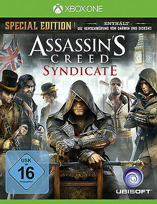 Assassin's Creed: Syndicate -- D1 Special Edition (Microsoft Xbox One, 2015)