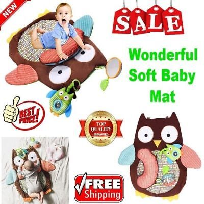Cartoon Soft Floor blanket Pillow And Mat Play climb Crawl Game Toy For Baby NEW