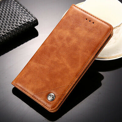 Luxury PU Leather Flip cover Stand Card Slot Business Case For Asus New Phones