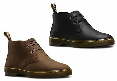 NEWDr Martens Mens Cabrillo Leather 2 Eye Desert Ankle Boots Various Colours