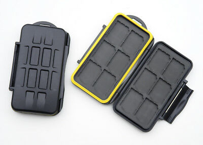 2 x Camera Memory Card Cases for 12 SD cards. MC-SD12. Two case for price of one