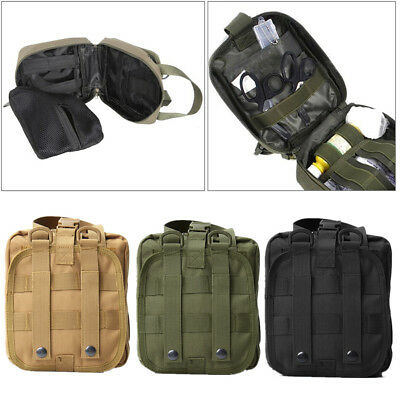 Utility Outdoor Tactical Waist Pack Pouch Military Camping Hiking Bag Belt AQI