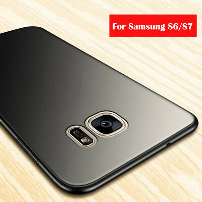 For Samsung Galaxy S6 S7 Edge Case Ultra Thin Soft TPU Shockproof Silicone Cover
