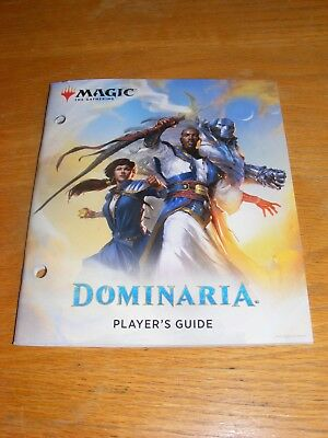 Magic The Gathering DOMINARIA Player's Guide MTG DOM - New