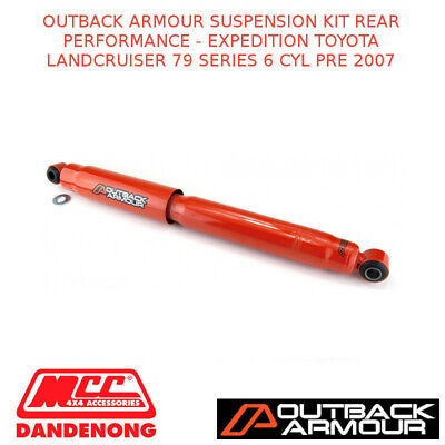 Outback Armour Suspension Kit Rear Expd Suit Toyota Lc 79 Series 6 Cyl Pre 2007