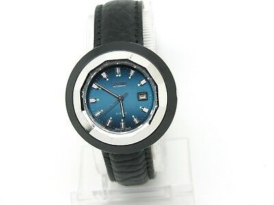 Ladies' Citizen Automatic Watch GN-4-S Blue Dial Date Display, Replacement Strap