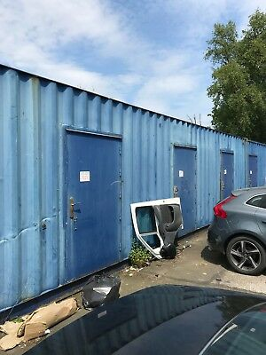 40Ft Shipping Steel Container Storage Container Already Split Into 10Ft Units