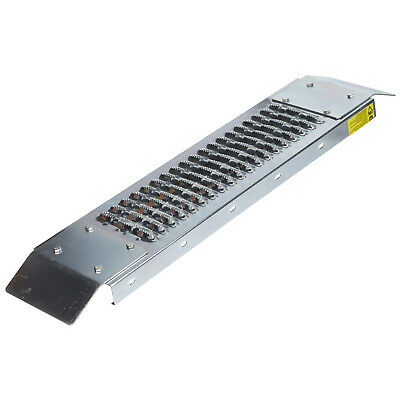500lb Loading Ramp 20x80cm Heavy Duty Steel Safe Easy Access Loading Double End