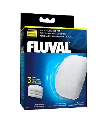 Fluval Polishing Pad for External Filters 3pack